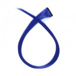 Mechón Clip Fantasía 50cm Azul