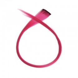 Mechón Clip Fantasía 50cm Rosa